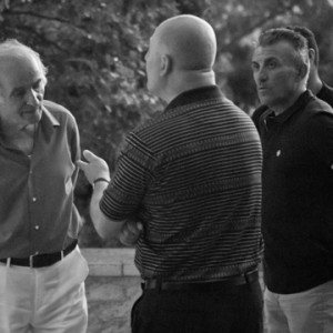 Mariano Pietrini with friends